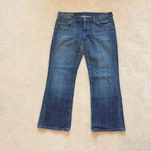 Citizens of humanity low waisted bootcut jeans